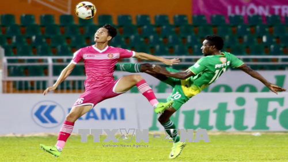 V.League 2018: Sài Gòn FC thất thủ trước Xổ số kiến thiết Cần Thơ